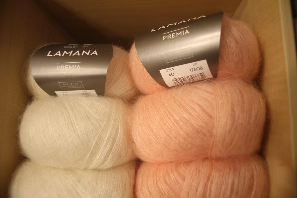 laines en alpaga Lamana