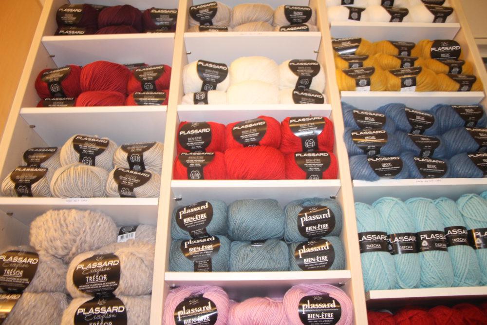 vente laines plassard dans les Vosges