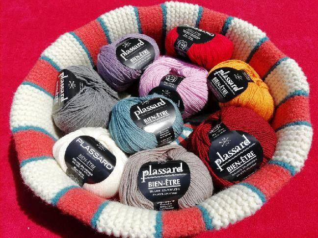 fils à tricoter de qualité française
